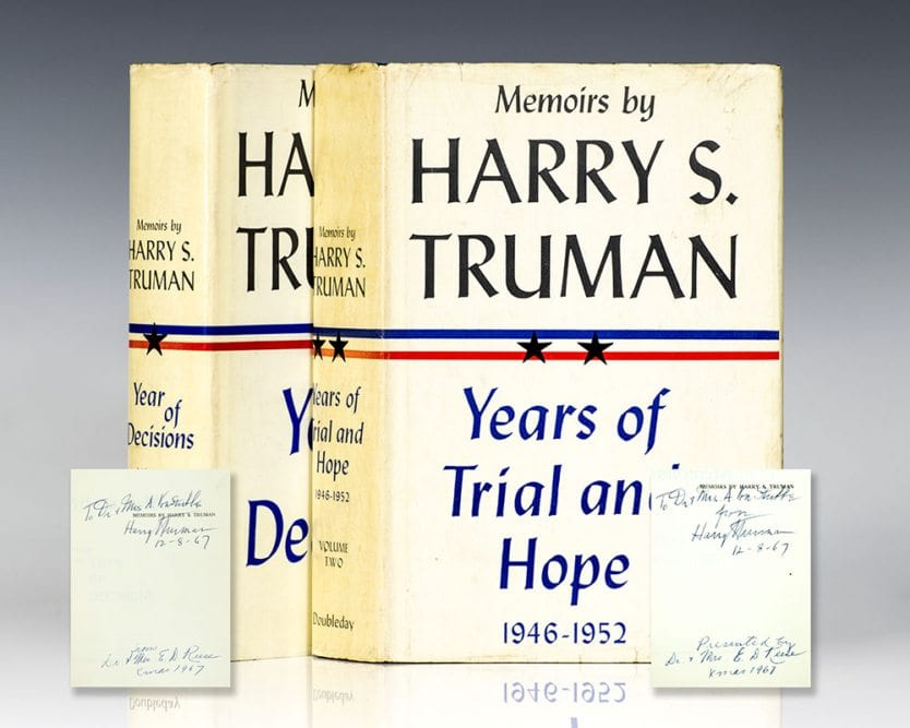 harry s truman the early years essay Confined for two years to the white house, president james k polk tries to plan an out-of-town visit  young john f kennedy condemns harry truman's 1948 stand.