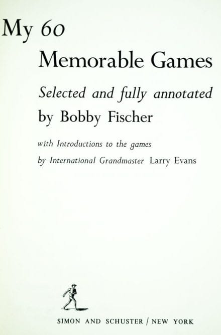 my 60 memorable games pdf