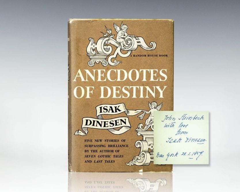 Anecdotes of Destiny.