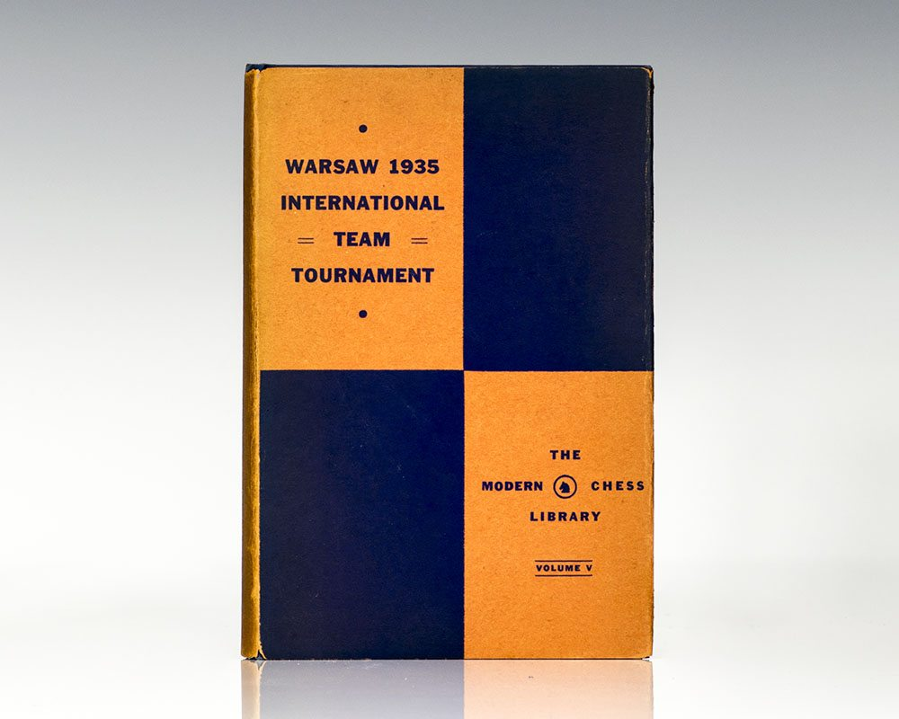 Book of the Warsaw 1935 International Chess Team Tournament.