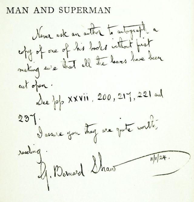 Man and Superman.