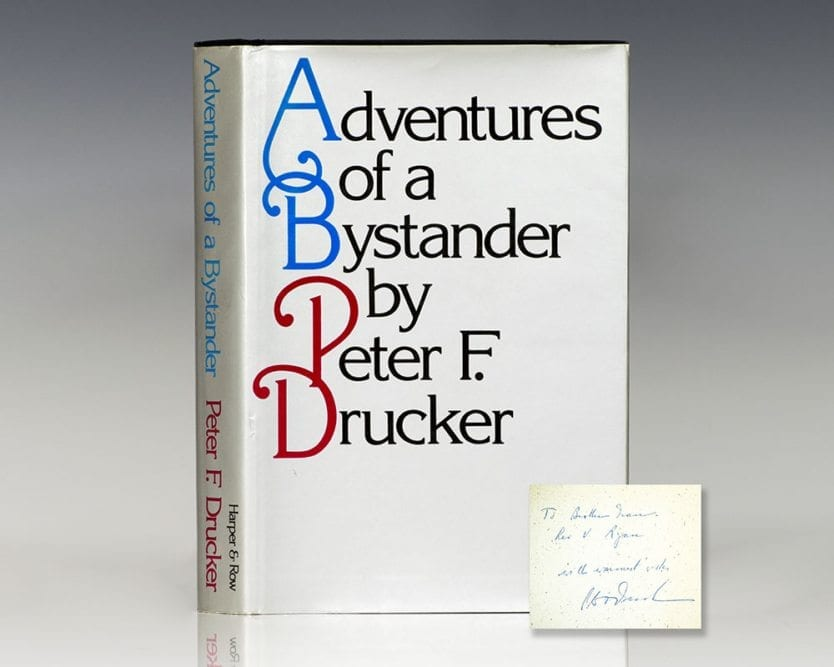 Adventures of a Bystander.
