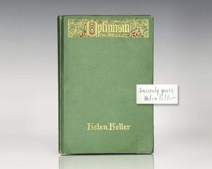 Optimism: An Essay.