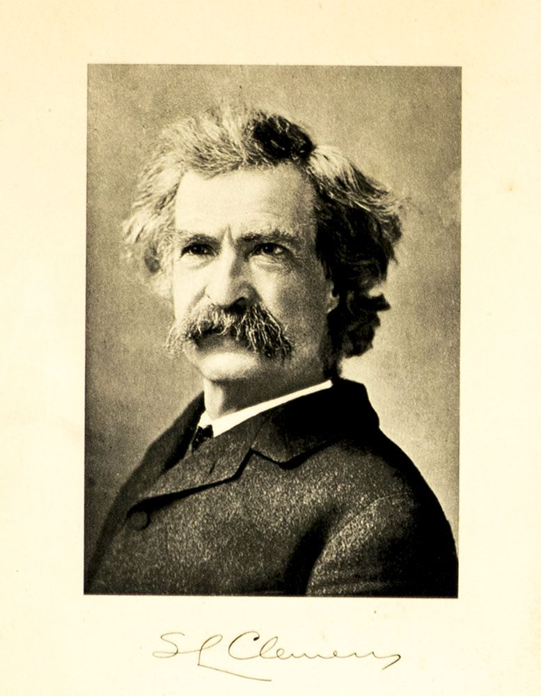 Mark Twain Autographed Letter Signed.