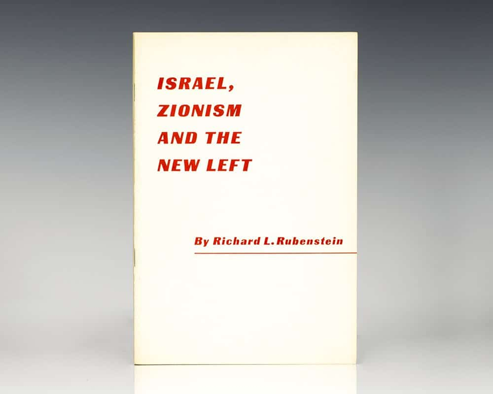 Israel, Zionism and the New Left.