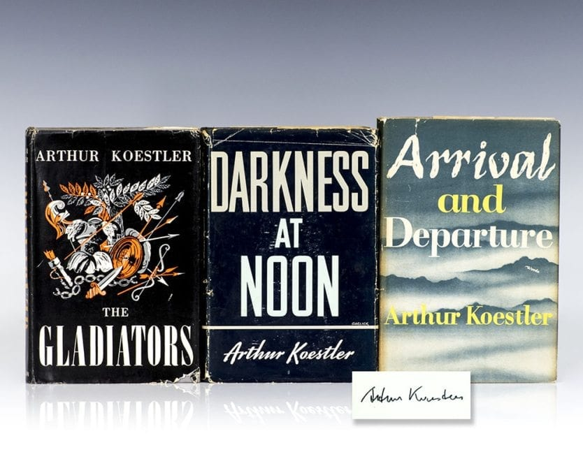 an analysis of darkness at noon a novel by koestler Buy darkness at noon by arthur koestler from waterstones today  a  remarkable book, a grimly fascinating interpretation ofall revolutionary  dictatorships,.