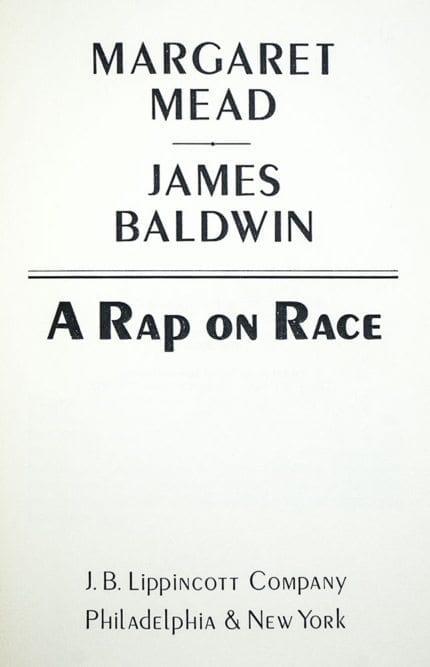 A Rap on Race.