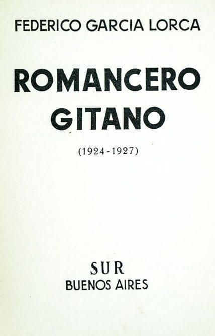Romancero Gitano 1924-1927 (Gyspy Ballads).