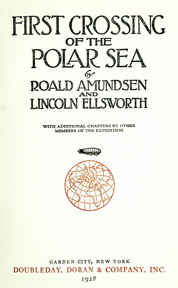 First Crossing of the Polar Sea.