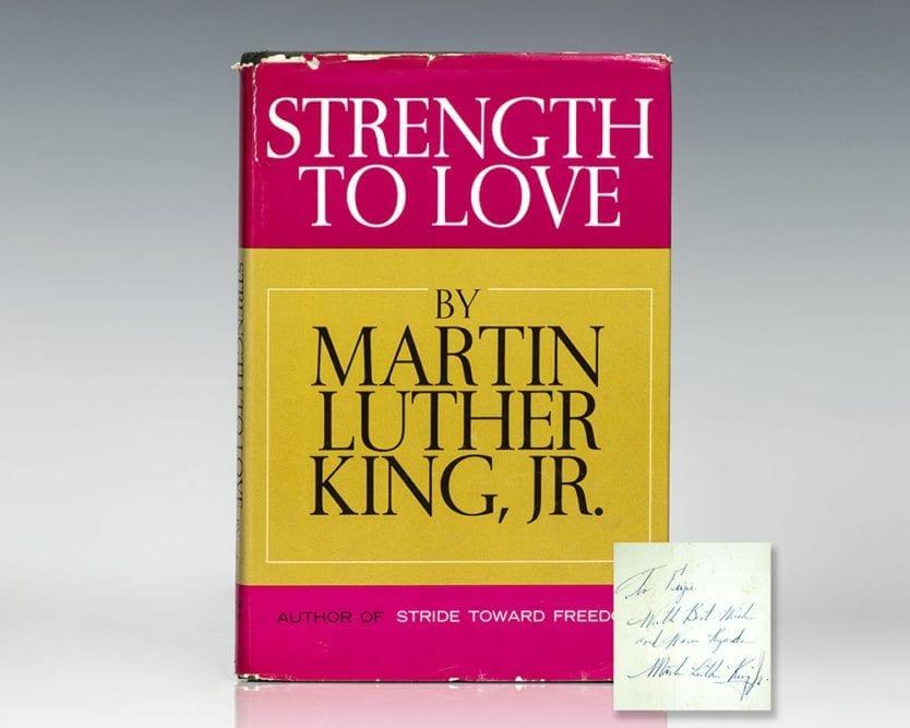 Strength to Love.