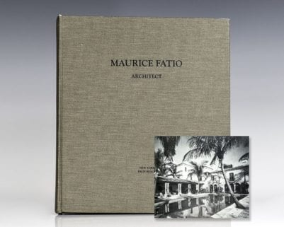 Maurice Fatio: Architect.
