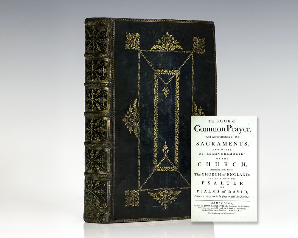 Book of Common Prayer and Administration of the Sacraments, and other Rites and Ceremonies of the Church, According to the Use of the Church of England.