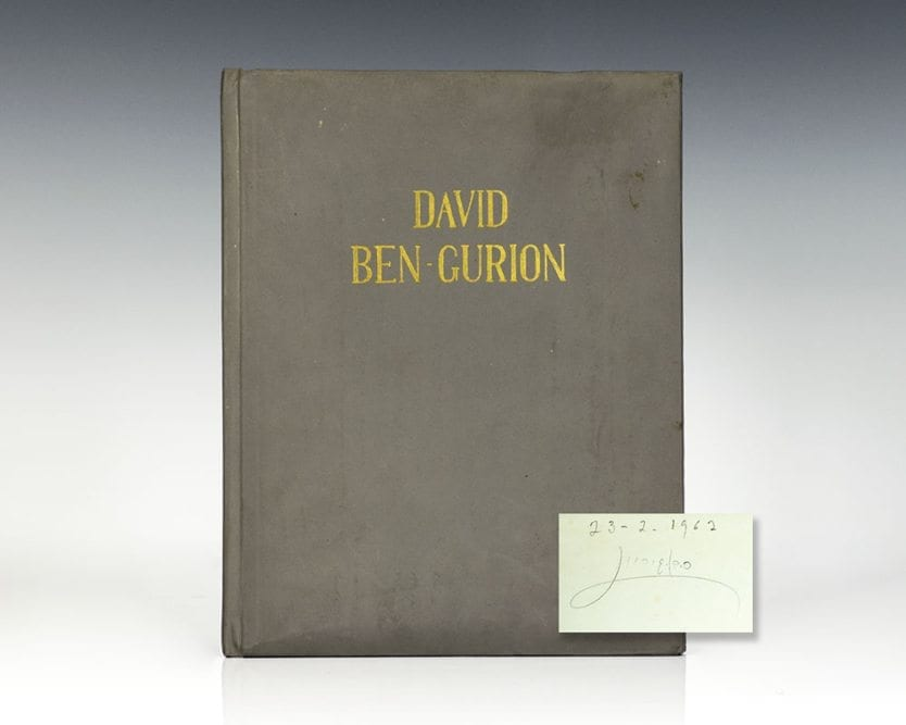 David Ben-Gurion: A Pictorial Record.