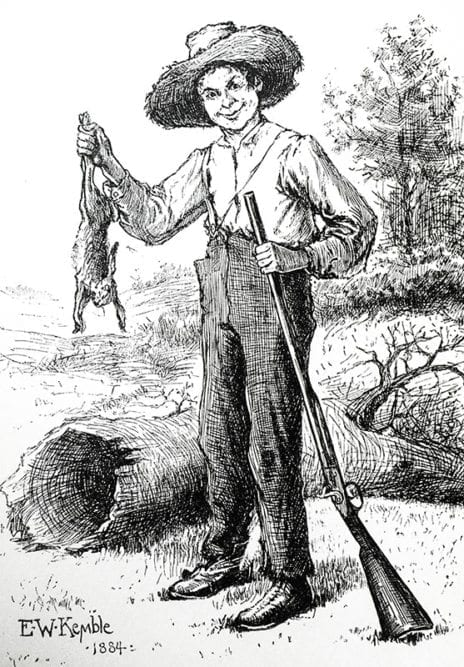 the illustration of racism in mark twains huckberry finn There was quite a controversy over huckleberry finn when it was many wince at the racism in the comes from one book by mark twain called huckleberry finn.