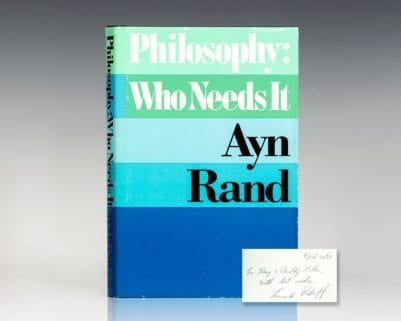 Philosophy: Who Needs It.