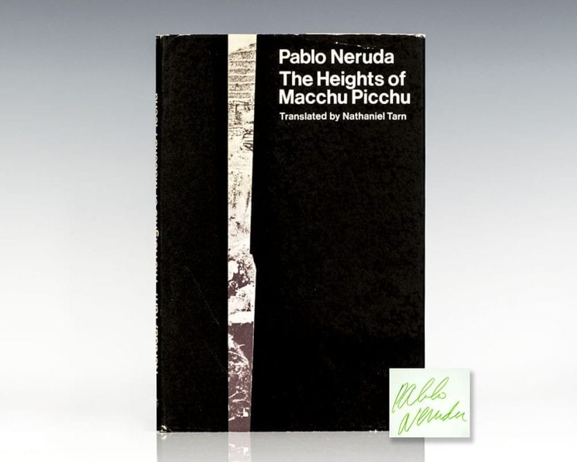 The Heights of Macchu Picchu.