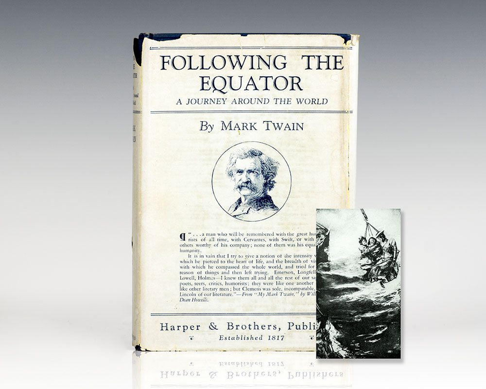 Following the Equator: A Journey Around the World.
