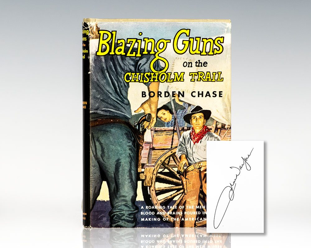 Blazing Guns on the Chisholm Trail.