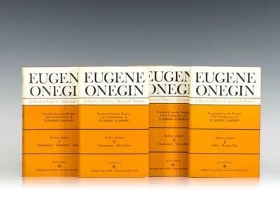 Eugene Onegin: A Novel in Verse.