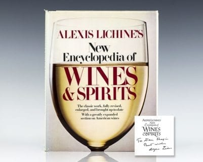 Alexis Lichine's New Encyclopedia of Wines & Spirits.