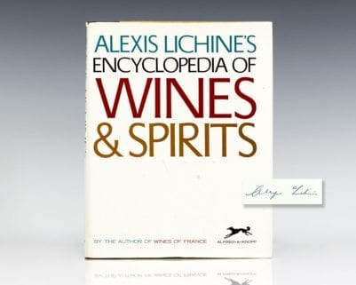 Alexis Lichine's Encyclopedia of Wines & Spirits.