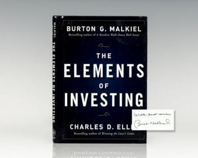 The Elements of Investing.