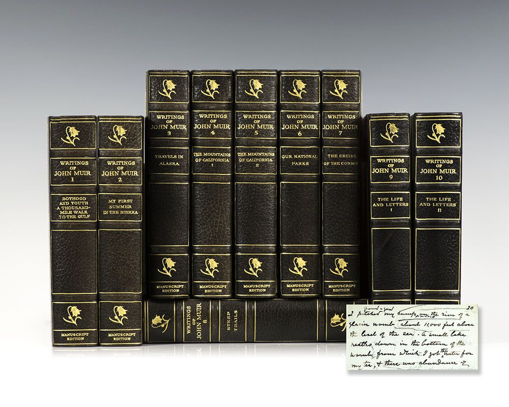 The Writings of John Muir: The Manuscript Edition.