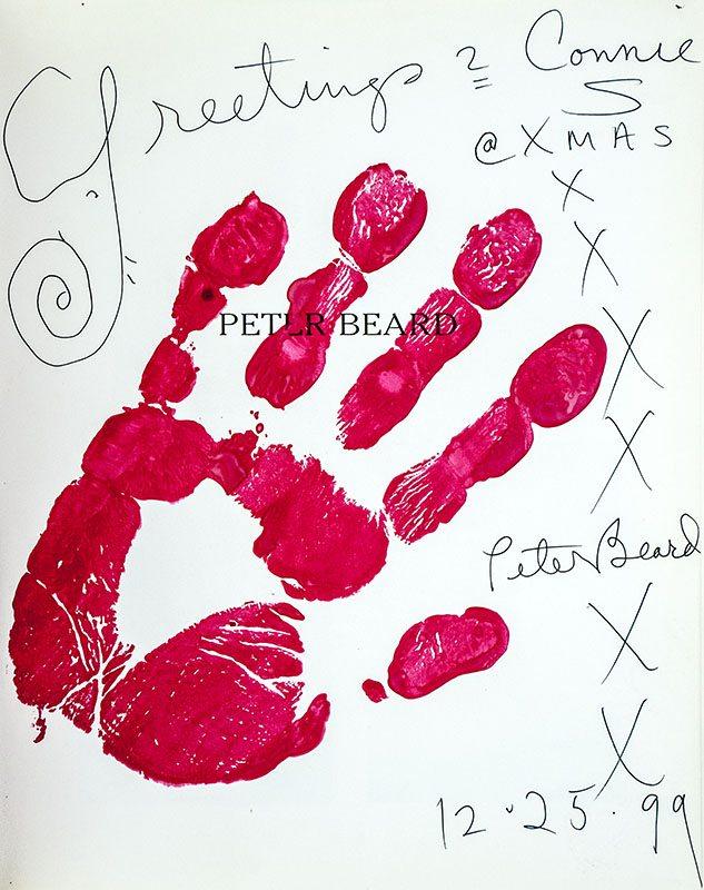Peter Beard: Fifty Years of Portaits.
