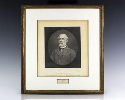 Robert E. Lee Autograph.