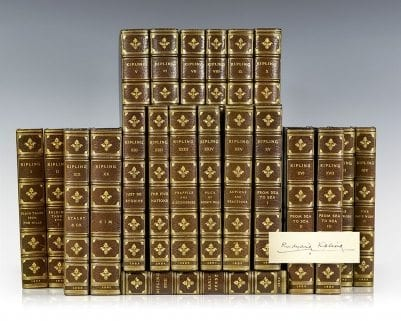 The Works of Rudyard Kipling: The Deluxe Signed Edition.