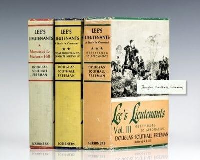 Lee's Lieutenants: A Study in Command.