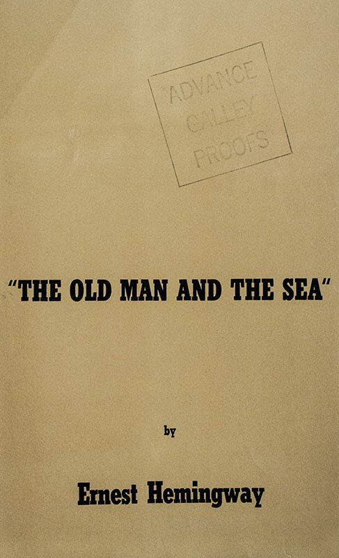 The Old Man and the Sea Archive.