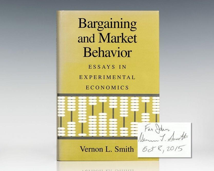 Bargaining and Market Behavior: Essays in Experimental Economics.