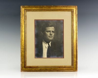 Jack London Signed Photograph.