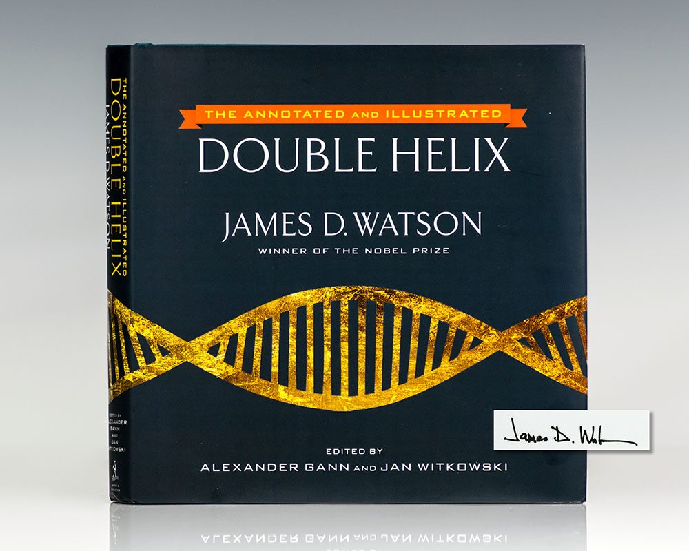The Annotated and Illustrated Double Helix.