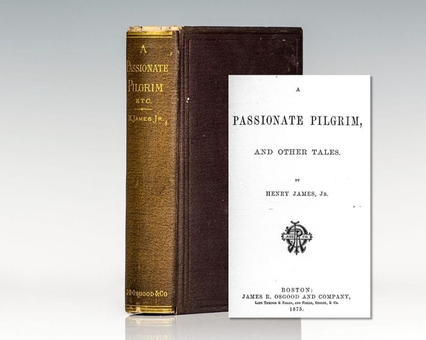 A Passionate Pilgrim and Other Tales.