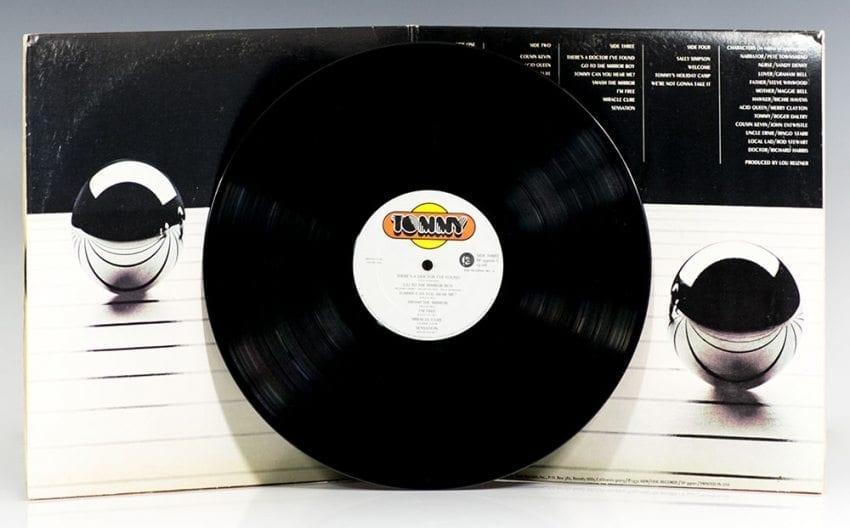 Tommy (London Symphony Orchestra album) Autographed Record Album