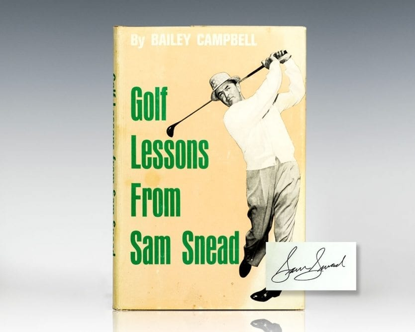 Golf Lessons From Sam Snead.
