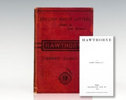 English Men of Letters: Hawthorne.