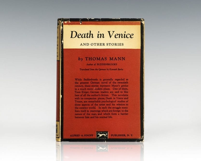 Death in Venice and Other Stories.