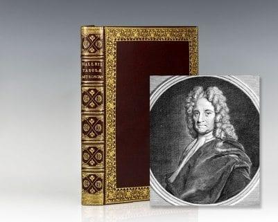 Edmundi Halleii Astronomi Dum Viveret Regii Tabulae Astronomiae.