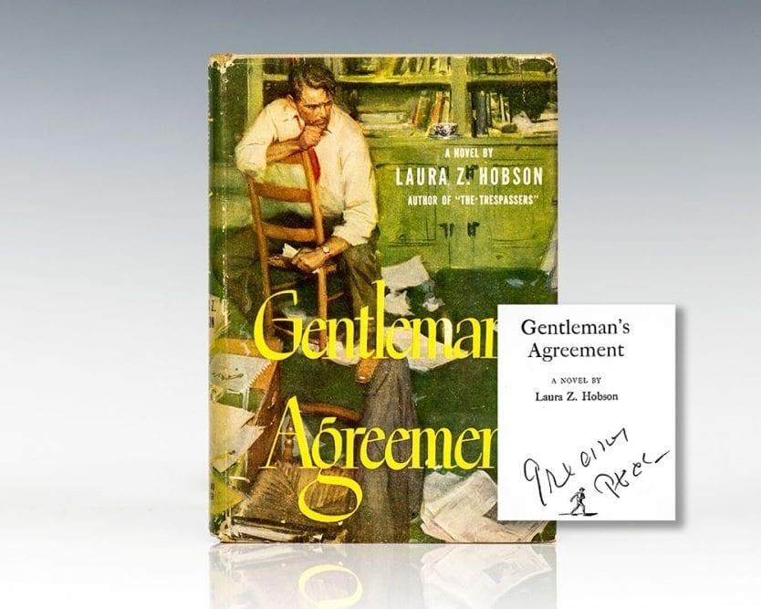 Gentleman's Agreement.