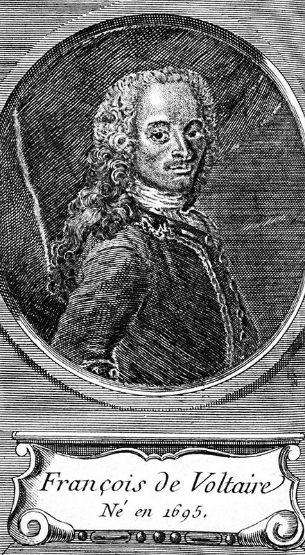 account of the life and writings of voltaire From an early age, voltaire displayed a talent for writing verse and his first published work was poetry he wrote two long poems, the henriade and the maid of orleans , besides many other smaller pieces.