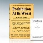 Prohibition At its Worst.