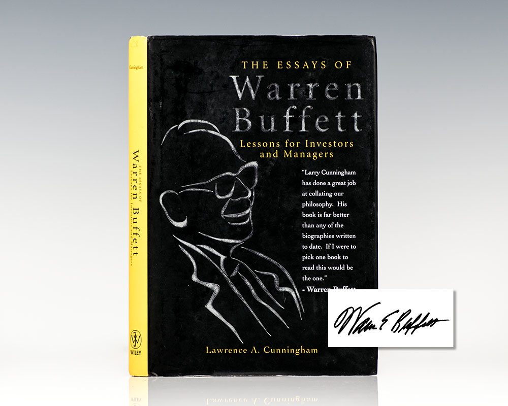The Essays of Warren Buffett: Lessons for Investors and Managers.