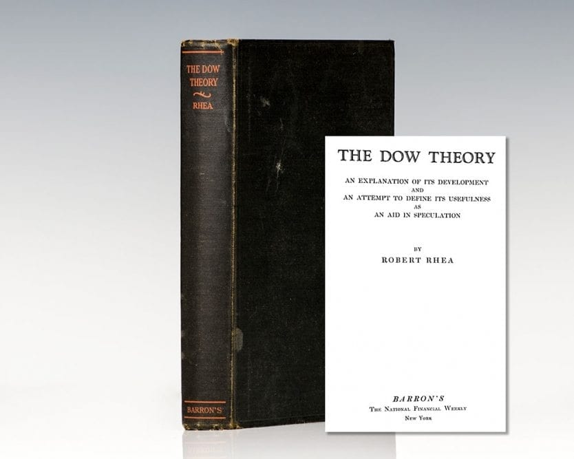 The Dow Theory: An Explanation of Its Development and an Attempt to Define Its Usefulness As An Aid In Speculation.