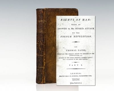 Rights of Man; Rights of Man: Part the Second; Common Sense; Letter Addressed to the Addressers; Agrarian Justice and A Letter to George Washington.