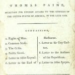 Writings of Thomas Paine: Secretary for Foreign Affairs to the Congress of the United States of America, in the Late War.