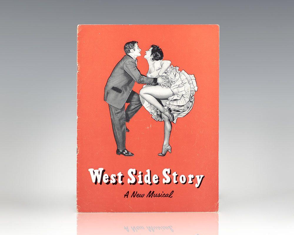 Original West Side Story 1959 Road Program.