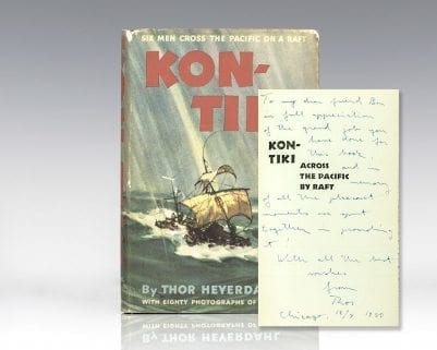 Kon-Tiki: Six Men Cross the Pacific on a Raft.